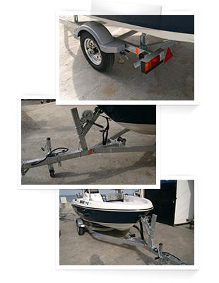 SOREX社製14Fボートトレーラー14FGW(1年車検)